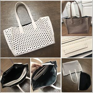 Zara collection Shoulder Tote with Clutch.